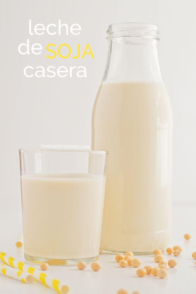 Esta leche de soja es una alternativa ideal a la leche de vaca, es barata y fácil de