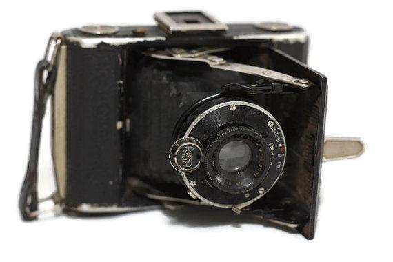 Zeiss Ikon Derval foldingcameraVintage by SmalandVintage on Etsy
