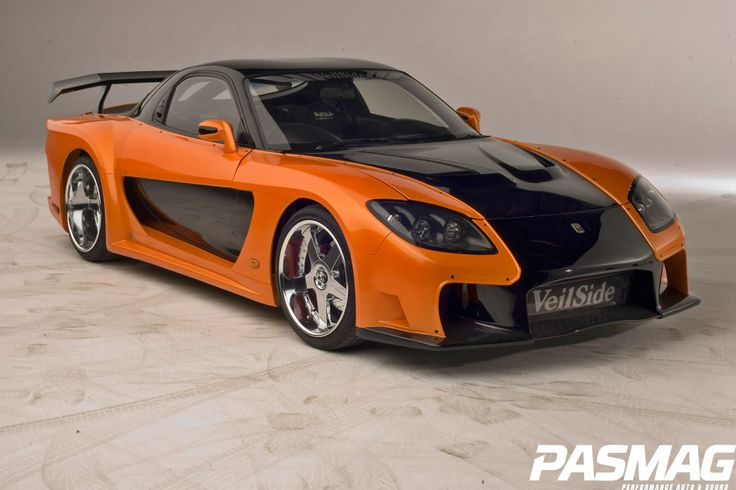 Veilside Mazda RX7 From THE FAST AND THE FURIOUS: TOKYO DRIFT.