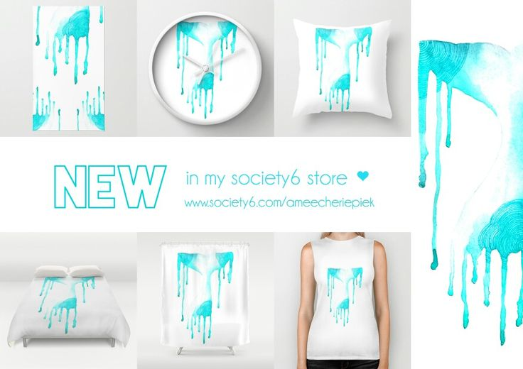 """Whale tail"" items in my Society6 store - Shower curtains, Throw pillows, shirts, Duvet covers etc.  Shope here: www.society6.com/ameecheriepiek"