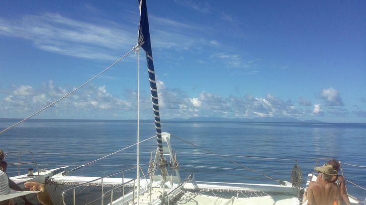 Seychellit. Snorklausta St. Pierren saaren lähettyvillä.