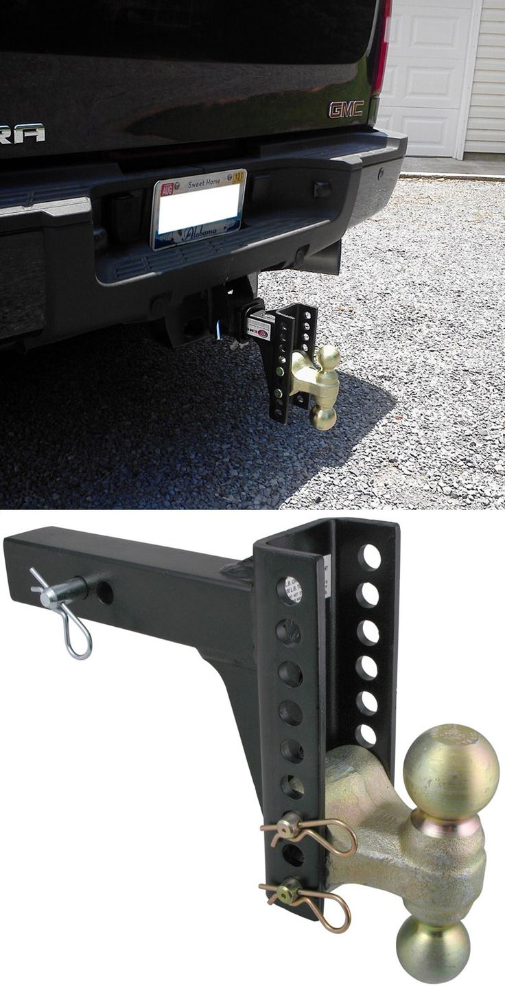 Channel Style Adjustable Ballmount - Perfect gift idea for dad on Father's Day!! Features an overall capacity of 14,000lbs. Tow equipment trailers, horse trailers and other accessories with this dynamic ballmount!