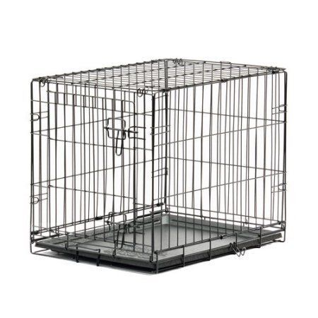 Blue Beagle Pet Home Training Kennel, 24 inch, Black