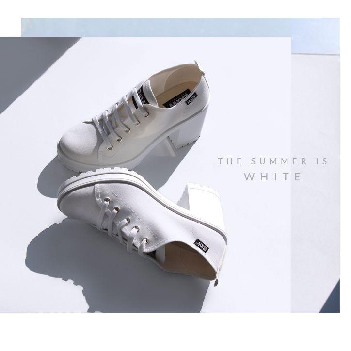 SWEET DREAM ••• BREAK&WALK INSPIRATION •••   COOL, YOUNG and TRENDY | TRACK SOLE  WHITE  • Get them | www.breakwalk.com