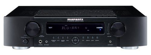Slim Height AV Surround Receiver with #Marantz M1 Chassis, Dolby TrueHD/dts-HD Master Audio Decoder, HDMI v1.3 Input x4, Output x1, Transcoding of all Analog sou...