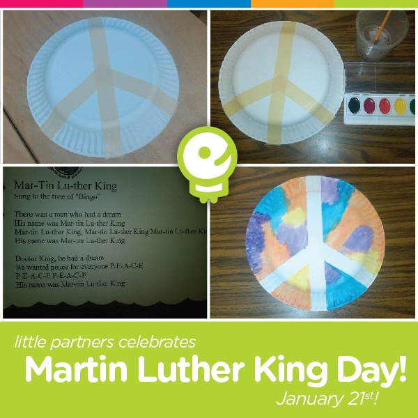 MLK Day Peace Song & Craft Activity!