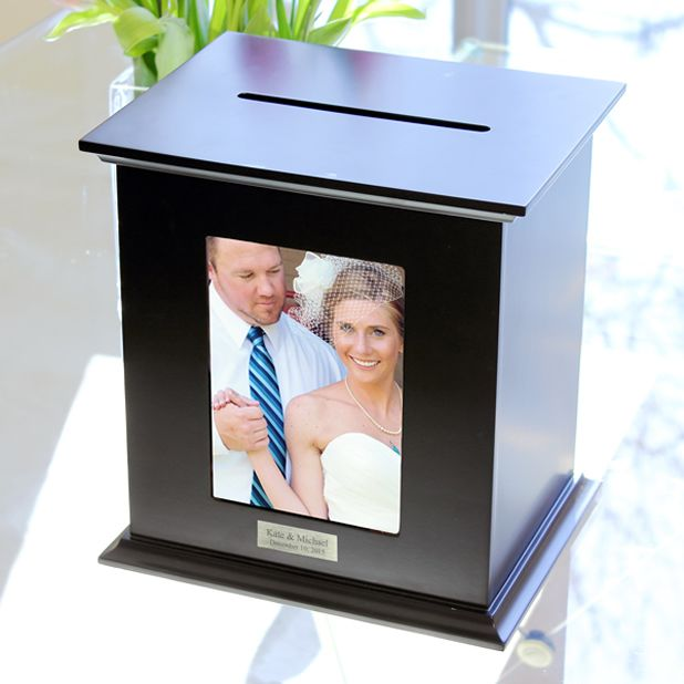 Personalized Reception Card Holder Photo Box.