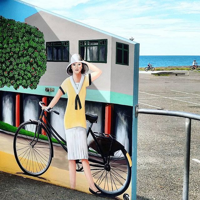 Love this shot by @batesynz - fitting as Napier's bike trails have had the honour of being voted New Zealand's best Urban Trail or Commute! #GreatThingsGrowHere #hawkesbay #lifestyle