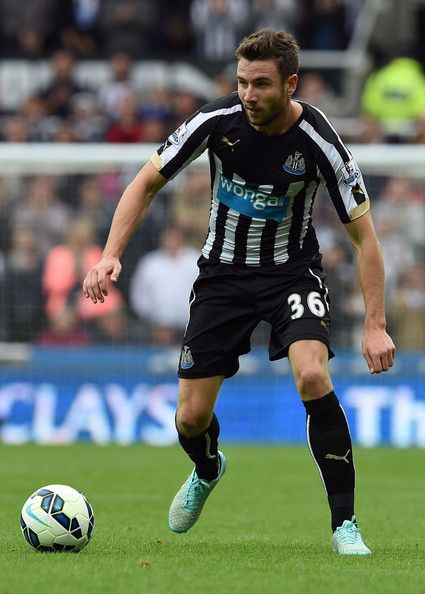 Paul Dummett of Newcastle United against Hull City