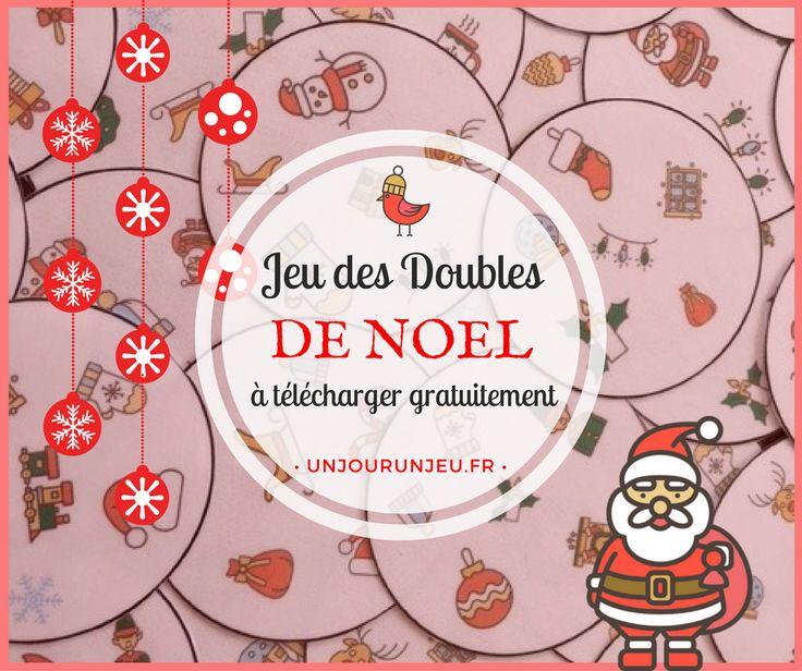 Pour amuser vos enfants pendant les vacances de Noël, voici un nouveau jeu des Doubles spécial esprit de Noël, parfait pour les plus grands comme pour les tout-petits.