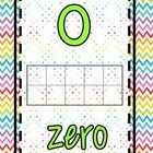 This file is for Chevron Numbers 0-20. They are 8 1/2 x 11. This chevron print is so fun and colorful-any child would be THRILLED to be in your sup...