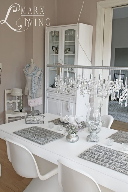 118 best modern shabby chic images on Pinterest At home, Basket - schlafzimmer im shabby chic wohnstil