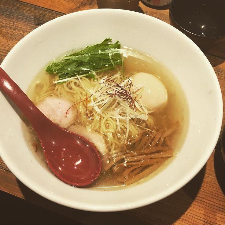 麺屋翔 塩 また麺類食った #meals #ramen