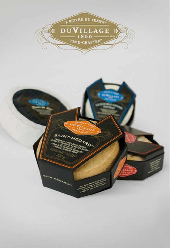 Du Village 1860 Gourmet Cheese Company - The Dieline -