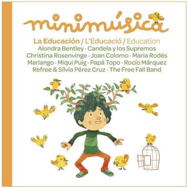 """""""Después de """"Los Animales"""", """"Los Transportes"""" y """"Los Alimentos"""", minimúsica presenta el cuarto volumen de su colección de discos, que gira en torno a """"La Educación"""", un disco algo natural dentro de la colección minimúsica, ya que es un tema que nos preocupa desde siempre."""""""