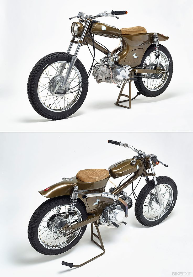 The Honda Super Cub is the best-selling two-wheeler on the planet. Since 1958, it's sold more than 60 million units. So, as you can imagine, there are some pretty cool custom Cubs around — but few are as cool as the machines being turned out by Holland's Super Motor Company. This is the latest build from SMC, intriguingly named Dirty Donkey ...