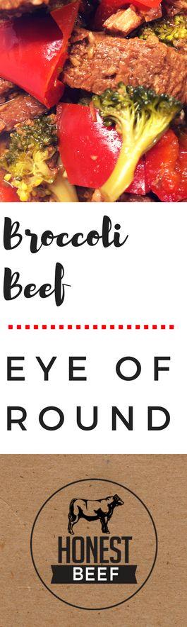 Honest Beef Broccoli Beef Eye of Round Recipe