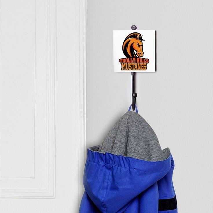 Basketball Wandhaken – Ihr Logo | Jugend Basketball Room Decor   – Products
