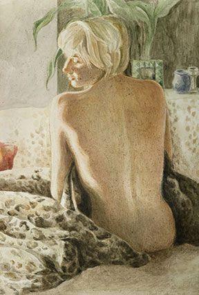 Barbara Gatti Cocci - Titolo - Musa - acquerello su carta - cm 70 x 100 - anno 2011