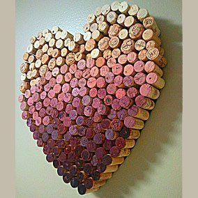 Un coeur en liège