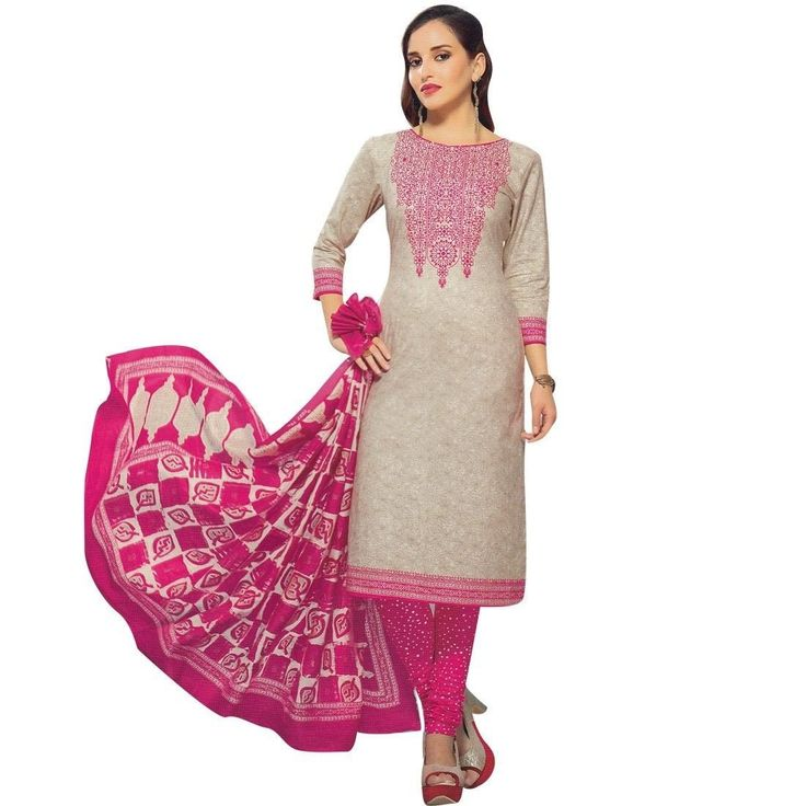 Ready To Wear Ethnic Printed Cotton Salwar Kameez Suit Indian Pakistani  #Designer #DressMaterial #SalwarKameez #FreeShipping #LowestPrice #NewStuff #SalwarSuit #ShopNow