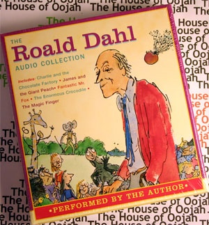 The Roald Dahl Audio Collection Audio Book CD      Charlie and the Chocolate Factory /James and the Giant Peach/Fantastic Mr. Fox    The Enormous Crocodile/The Magic Finger      Charlie and the Chocolate Factory /James and the Giant Peach/Fantastic Mr. Fox    The Enormous Crocodile/The Magic Finger