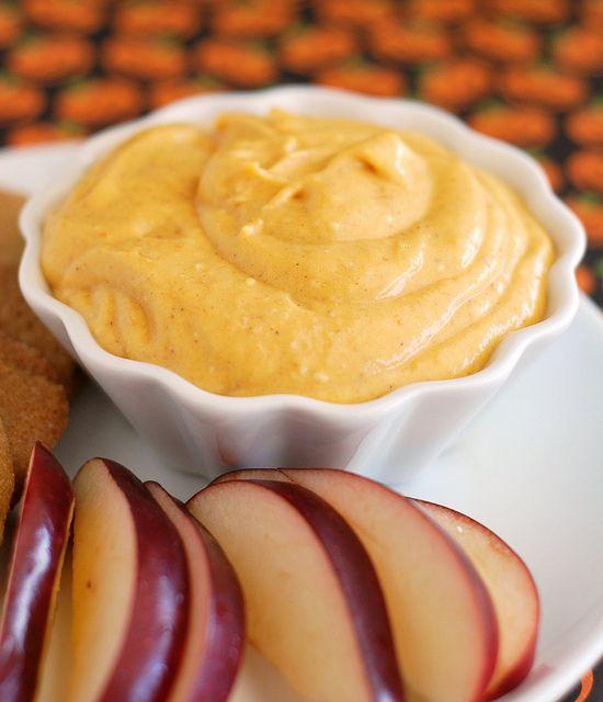 Pumpkin Cheesecake Dip | Fake Ginger