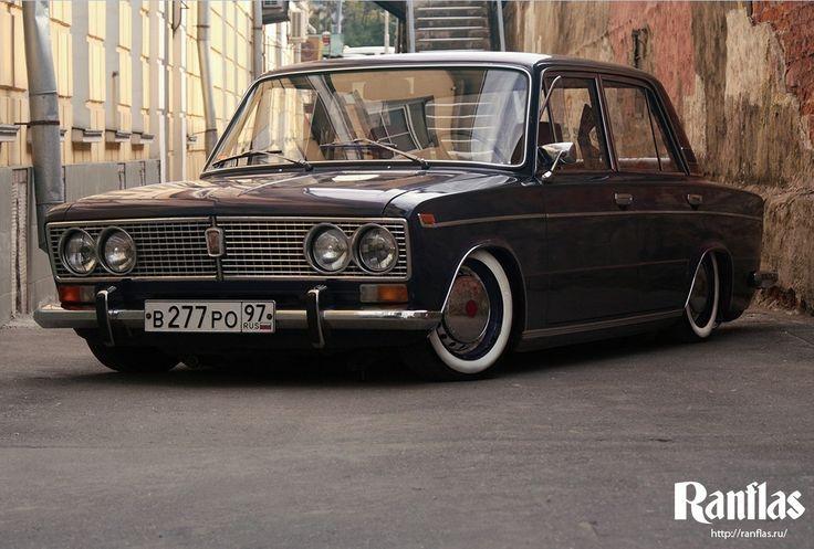 Niva Lada ... Russian car.