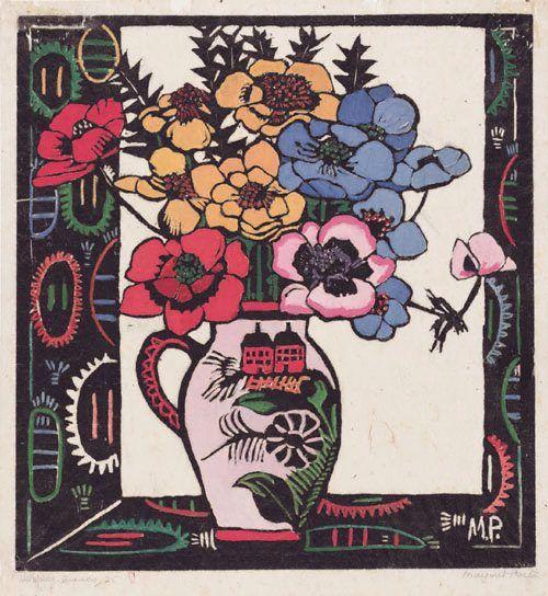 Anemones - Margaret Preston