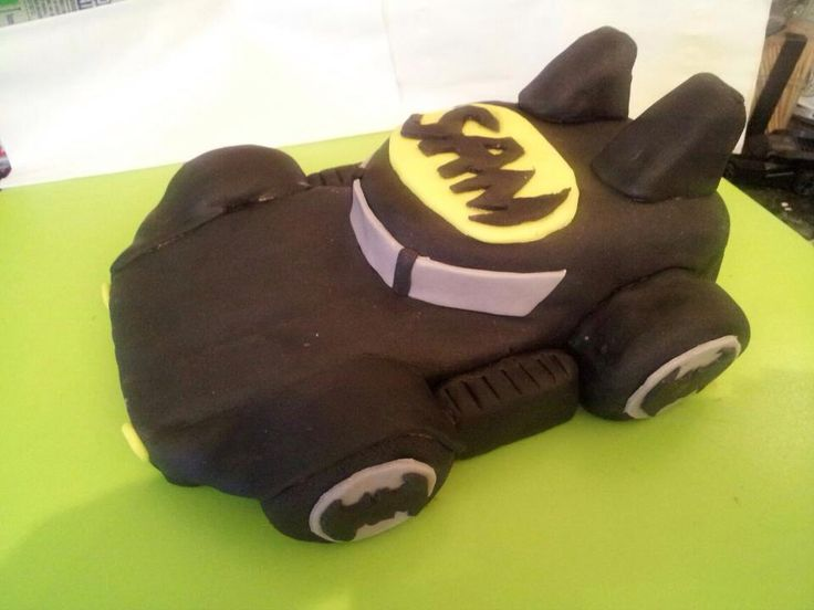 Bat mobile cake made by me!