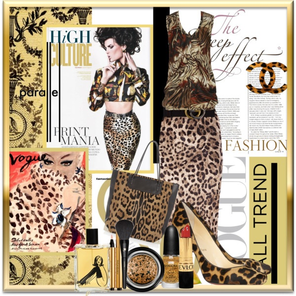 """""""Fall Trend Animal Prints"""" by chris-tuttle ❤ liked on Polyvore: Trends Animal, Lizart Ideas Fashion, Animal Prints, Fall Trends"""