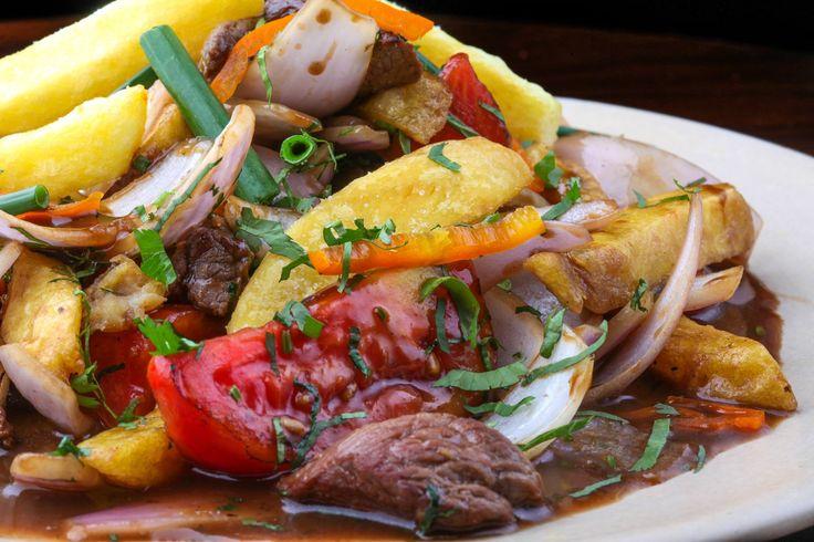 Perú país gastronomico. Lomo Saltado al Jugo, por el chef Gastón Acurio.