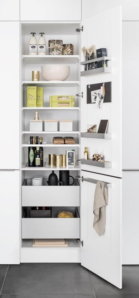 MultiMatic Aluminium From SieMatic   Nowhere Is Space As Valuable As In Kitchen  Cabinets. But