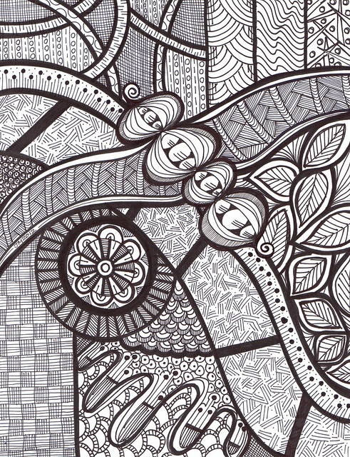 234 Best Zentangle BW Images On Pinterest