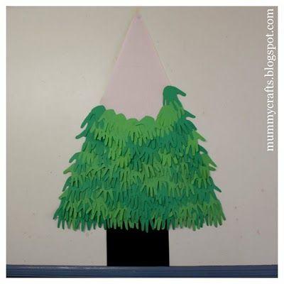 Handmade Christmas Tree - The Crafty Mummy