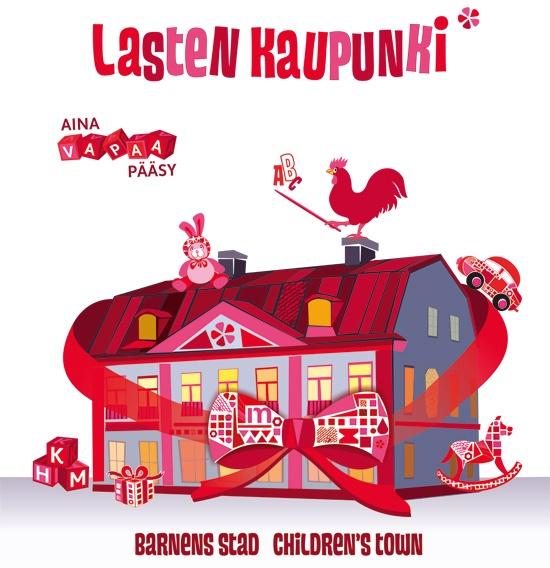 Lasten kaupunki kutsuu tutustumaan Helsingin menneisyyteen elämyksellisesti omin käsin.
