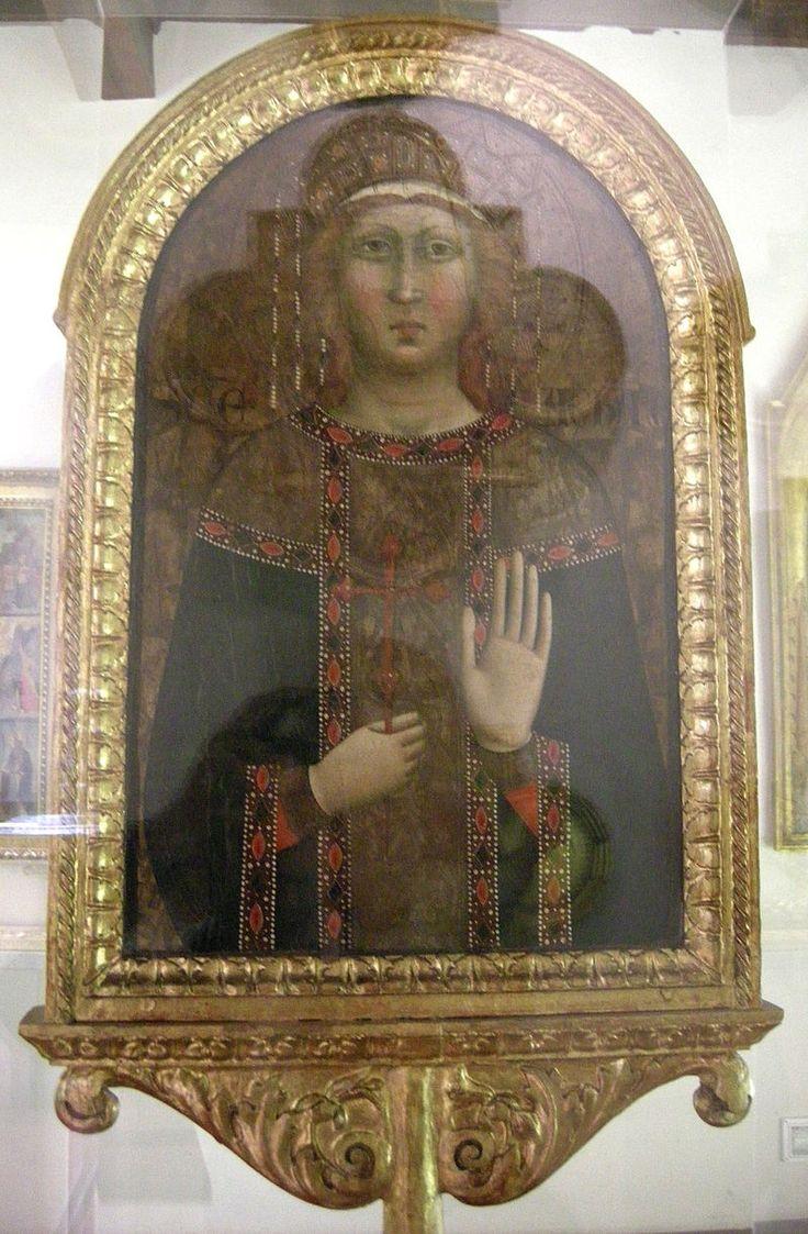 Stendardo della Sant'Agata - lato di Jacopo del Casentino - XIV sec. - Museo Opera del Duomo, Firenze