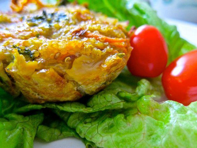 Lunch Ideas - Veggie Quin-iche | Meghan Telpner Nutritionista