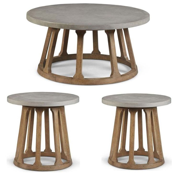 ART Furniture - Epicenters Austin Gray Fountainwood 3 Piece Occasional Table Set - 235302-1501-235303-1501