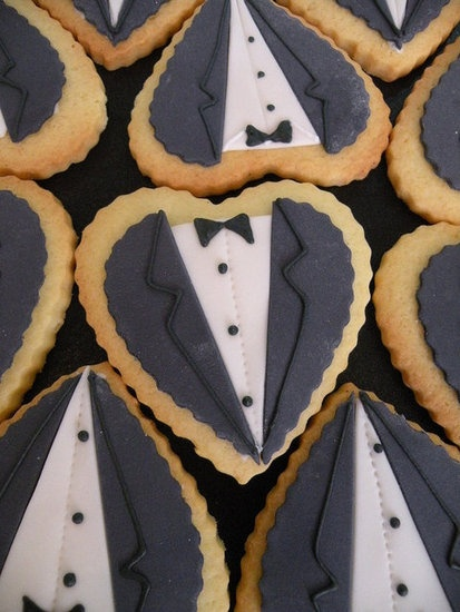 A tuxedo cookie of all girl nookie 5