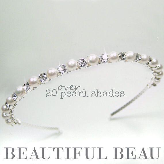 Hey, I found this really awesome Etsy listing at https://www.etsy.com/listing/198837731/bridal-headband-bridal-hairband