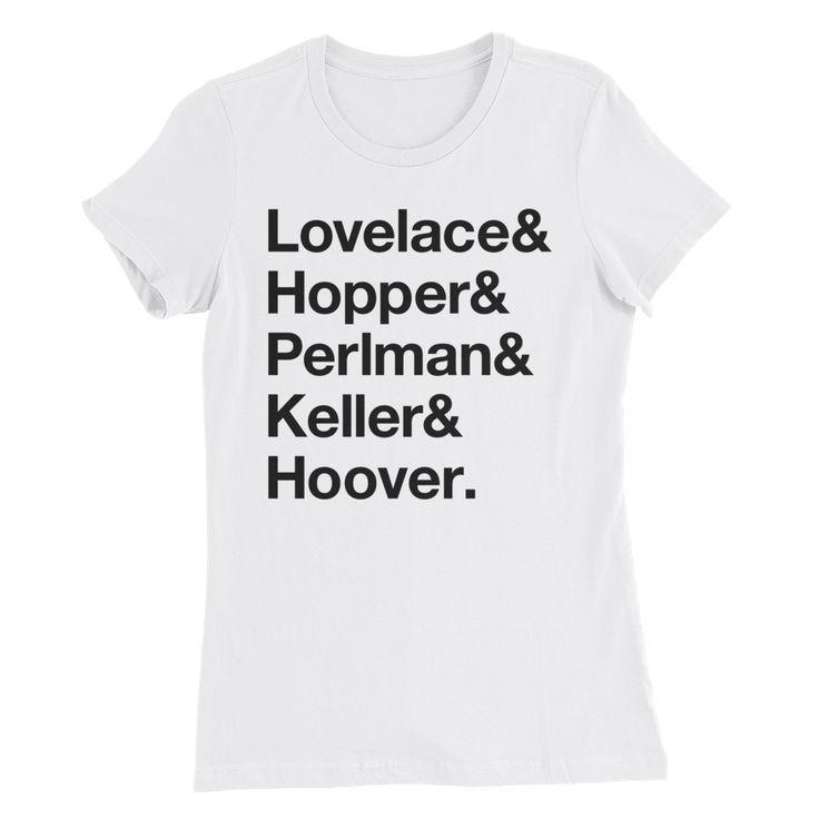 Women Of Tech Slim Fit Shirt (White)