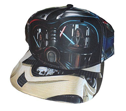 Star Wars Adult Duel Looking Glass Sublimated Snapback Hat //Price: $13.99 & FREE Shipping //     #starwarsfan