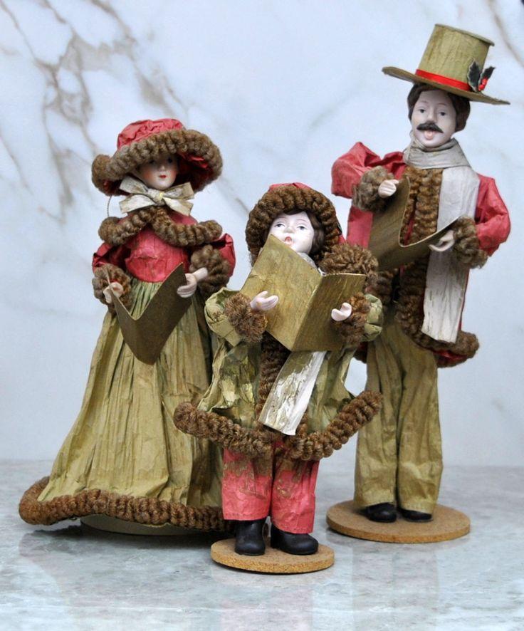 Vintage Christmas Decorations Mouse Carolers Set Jasco: 1000+ Ideas About 1980s Christmas On Pinterest