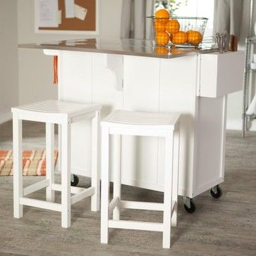 the randall portable kitchen island with optional stools kitchen islands and kitchen carts