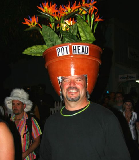 (See also: Pot Head.) | 26 Hilariously Clever Halloween Costumes
