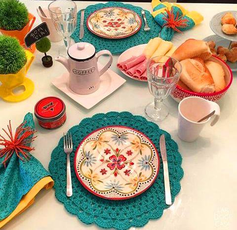 Coisinhas de decorar: Café da manhã delícia... #Colorido #Lindo #EuQuero...