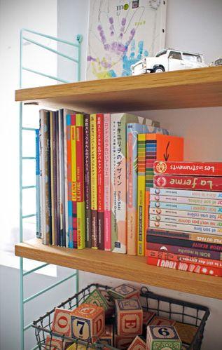 Twiggy and Lou blog cool bookshelves