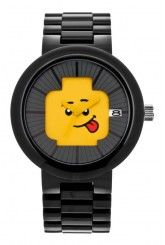LEGO® Happiness Adult Watch (Black/Yellow)