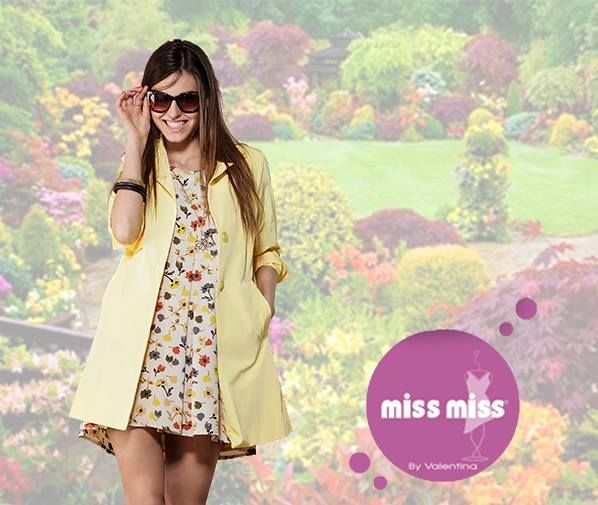 Spring Awakening. Get your garden like style with MISS MISS by Valentina